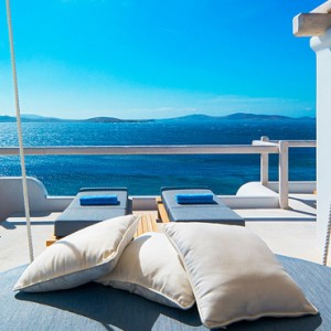 EXECUTIVE SEA VIEW SUITE - Mykonos Grand Hotel and Resort - luxury Greece honeymoon Packages