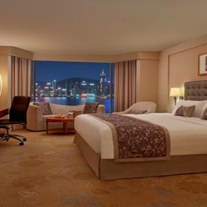 Hong Kong Honeymoon Packages Kowloon Shangri La Deluxe Harbour View Room1