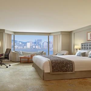 Hong Kong Honeymoon Packages Kowloon Shangri La Deluxe Harbour View Room2