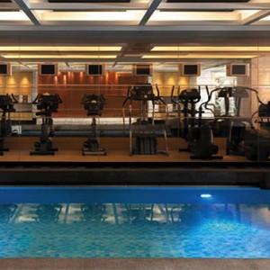 Hong Kong Honeymoon Packages Kowloon Shangri La Fitness Gym By Pool