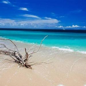 Keyonna Beach - Luxury Antigua Honeymoon Packages - Deserted turners beach