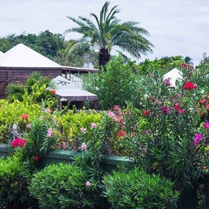 Keyonna Beach - Luxury Antigua Honeymoon Packages - Resort entrance