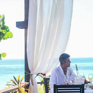 Keyonna Beach - Luxury Antigua Honeymoon Packages - Romantic Beachfront Dining