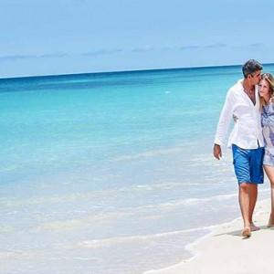 Keyonna Beach - Luxury Antigua Honeymoon Packages - Romantic beach stroll