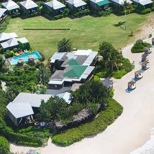 Keyonna Beach - Luxury Antigua Honeymoon Packages - aerial view