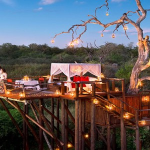 Lion Sands Game Reserve - Luxury South Africa Honeymoon Packages - Chalkley treehouse