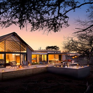 Lion Sands Game Reserve - Luxury South Africa Honeymoon Packages - Ivory lodge exterior