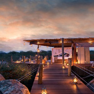 Lion Sands Game Reserve - Luxury South Africa Honeymoon Packages - Kingston treehouse