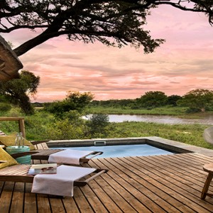 Lion Sands Game Reserve - Luxury South Africa Honeymoon Packages - Narina Lodge exterior pool