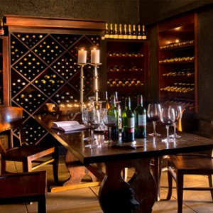 Lion Sands Game Reserve - Luxury South Africa Honeymoon Packages - Narina Lodge wine cellar