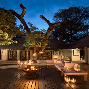 Lion Sands Game Reserve - Luxury South Africa Honeymoon Packages - River lodge main area
