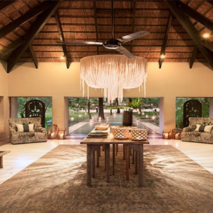 Lion Sands Game Reserve - Luxury South Africa Honeymoon Packages - River lodge reception