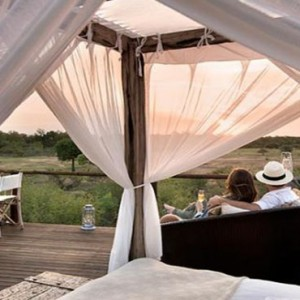 Lion Sands Game Reserve - Luxury South Africa Honeymoon Packages - treehouse dining