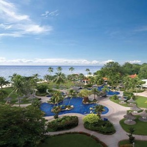 Malaysia Honeymoon Packages Golden Sands Resort By Shangri La, Penang Aerial View