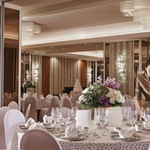 Malaysia Honeymoon Packages Shangri La Kuala Lumpur Wedding Setup