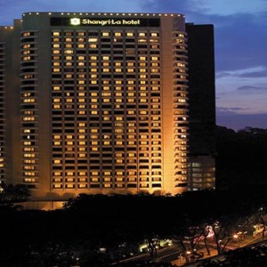 Malaysia Honeymoon Packages Shangri La Kuala Lumpur Exterior At Night