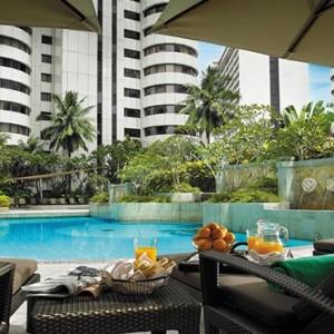 Malaysia Honeymoon Packages Shangri La Kuala Lumpur Pool