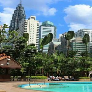 Malaysia Honeymoon Packages Shangri La Kuala Lumpur Pool1