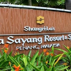 Malaysia Honeymoon Packages Shangri La Rasa Sayang Resort Entrance
