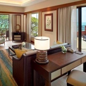 Malaysia Honeymoon Packages Shangri La Rasa Sayang Resort Garden Wing Terrace Suite