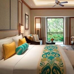 Malaysia Honeymoon Packages Shangri La Rasa Sayang Resort Garden Wing Terrace Suite1