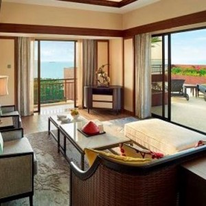 Malaysia Honeymoon Packages Shangri La Rasa Sayang Resort Garden Wing Tranquil Suite