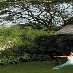 Malaysia Honeymoon Packages Shangri La Rasa Sayang Resort Garden Area Of CHI
