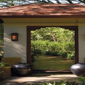 Malaysia Honeymoon Packages Shangri La Rasa Sayang Resort Garden Entrance