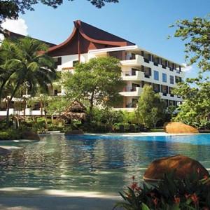 Malaysia Honeymoon Packages Shangri La Rasa Sayang Resort Garden Wing Pool1