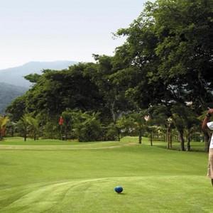 Malaysia Honeymoon Packages Shangri La Rasa Sayang Resort Golf Course