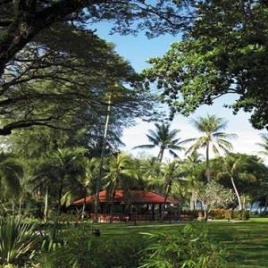 Malaysia Honeymoon Packages Shangri La Rasa Sayang Resort Ground And Gardens