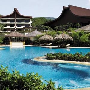 Malaysia Honeymoon Packages Shangri La Rasa Sayang Resort Rasa Wing Pool