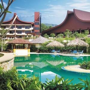 Malaysia Honeymoon Packages Shangri La Rasa Sayang Resort Pool1
