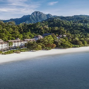 Malaysia Honeymoon Packages The Andaman Langkawi Exterior Helicopter View