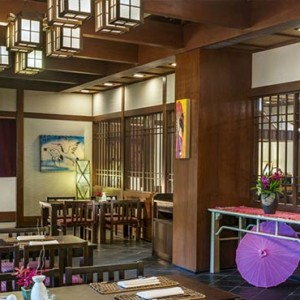 Malaysia Honeymoon Packages The Andaman Langkawi Japanese Restaurant
