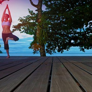 Malaysia Honeymoon Packages The Andaman Langkawi Yoga1