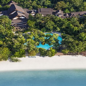 Malaysia Honeymoon Packages The Andaman Langkawi Aerial View