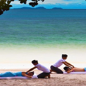 Malaysia Honeymoon Packages The Andaman Langkawi Beach Spa Massage