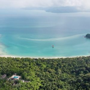 Malaysia Honeymoon Packages The Datai Langkawi Aerial View
