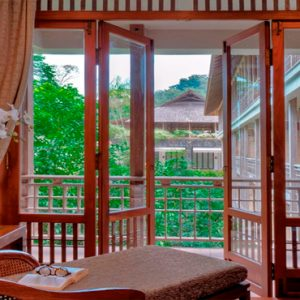 Malaysia Honeymoon Packages The Datai Langkawi Canopy Suites Daybed View