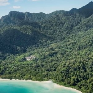 Malaysia Honeymoon Packages The Datai Langkawi Hotel Aerial View