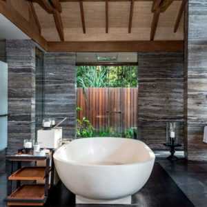 Malaysia Honeymoon Packages The Datai Langkawi One Bedroom Beach Villa Bathroom