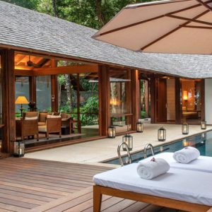 Malaysia Honeymoon Packages The Datai Langkawi One Bedroom Beach Villa Swimming Pool