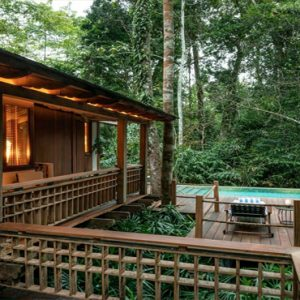 Malaysia Honeymoon Packages The Datai Langkawi Rainforest Pool Villa Exterior