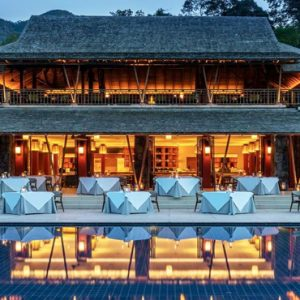Malaysia Honeymoon Packages The Datai Langkawi Dining Room Exterior