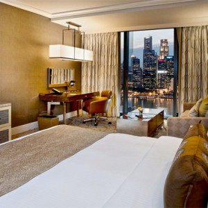 Marina Bay Sands - Luxury Singapore Honeymoon Packages - Deluxe room
