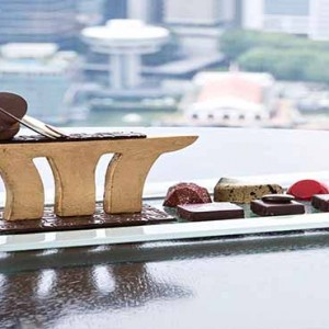Marina Bay Sands - Luxury Singapore Honeymoon Packages - In room dining