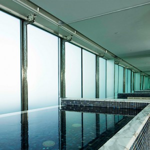 Marina Bay Sands - Luxury Singapore Honeymoon Packages - banyan tree fitness club sauna