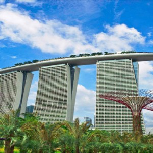 Marina Bay Sands - Luxury Singapore Honeymoon Packages - hotel exterior