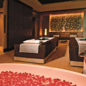 Marina Bay Sands - Luxury Singapore Honeymoon Packages - spa treatment room